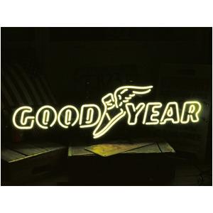 ネオンサイン 【GOOD YEAR ROGO】グッドイヤー ロゴ(ネオン管 看板 アメリカン雑貨 ・NEON SIGN・ネオンサイン)/Lサイズ