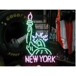 ネオンサイン 【NEW YORK】ニューヨーク 自由の女神(ネオン管 看板 アメリカン雑貨 ・NEON SIGN・ネオンサイン)