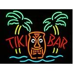 ネオンサイン TIKI BAR PALM BEACH チキバーパームビーチ (ネオン管 看板 アメリカン雑貨 ・NEON
