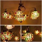 【Atelier Glass Chandelier 】ヨーロッパ風★9灯シャンデリア ジュピター Jupiter♪