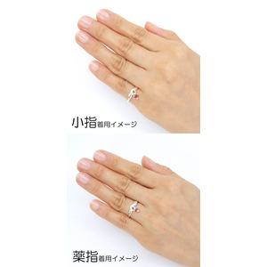 Silver925 シルバー リング ハート ガーネット 1月誕生石/9号