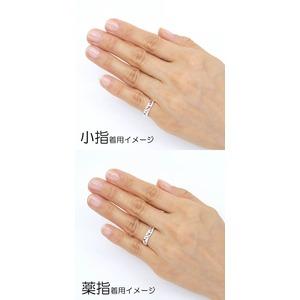Silver925 シルバー リング ガーネット 1月誕生石/11号
