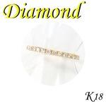 K18 イエローゴールド エタニティ リング ダイヤモンド 4月誕生石/12号