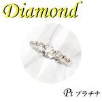 プラチナ ピンキーリング ダイヤモンド 4月誕生石/2号