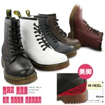 ブーツ メンズ インヒール内蔵レースアップブーツ/ネイビー22.5cm
