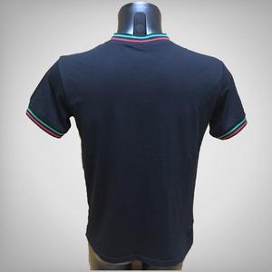 COSA NOSTRA  VネックTシャツ/ブラックSサイズ
