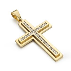【トップのみ】クロス 十字架 ネックレス/ゴールド