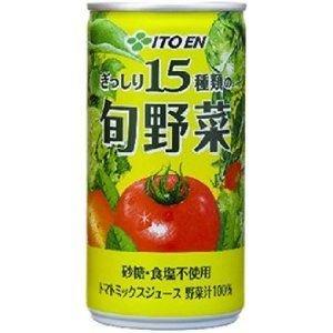 伊藤園 旬野菜 190g缶 90本セット - 拡大画像