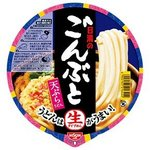 日清食品 ごんぶと 天ぷらうどん 内容量208g 24個