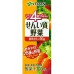 紙パック 伊藤園 せんい質野菜 200ml  48本セット