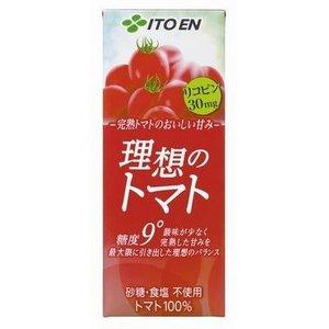 紙パック 伊藤園 理想のトマト 200ml  48本セット - 拡大画像