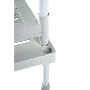 伸縮式整理棚 トールタイプ【2台セット】 押入れ収納 押入れ クローゼット収納 整理棚 ラック 2個セット 収納 NI-003C
