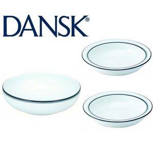 DANSK(ダンスク) ビストロランチ3点セット ★スープボウル&パスタボウル - 拡大画像