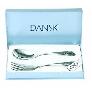 DANSK(ダンスク)セージソングディナー3点セット ★パスタボウル&取り分け用サービススプーン&フォーク