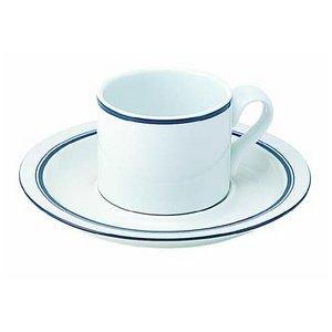 DANSK(ダンスク) ビストロコーヒーブレイク6点セット  ★カップ&ソーサー&コーヒースプーン - 拡大画像