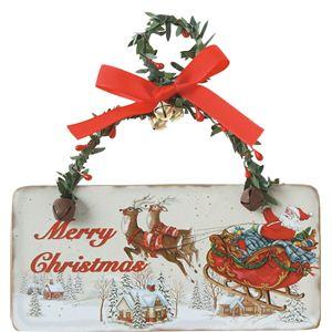 【クリスマス】クラシカルサンタMCプレート COH-511 - 拡大画像