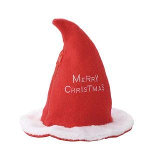 【クリスマスコスプレ】 サンタジップハットバッグ CQ -144 - 拡大画像