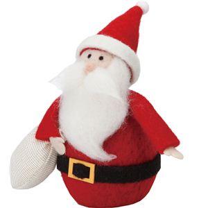 【クリスマス】ウールサンタギフトスタンド CT -383 - 拡大画像