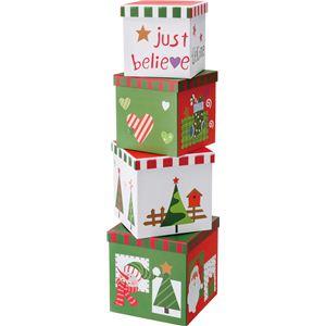 【クリスマス】96CM ギフトペーパーボックス CTDD-144 - 拡大画像