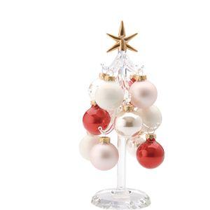 【クリスマス】ガラスハートウォーミングボールツリー CTDD-147