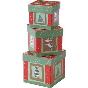 【クリスマス】ギフトペーパーボックス CTDD-161 - 拡大画像