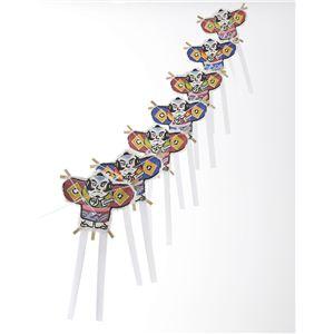 ミニ連凧飾り-奴 NPR-1428 - 拡大画像