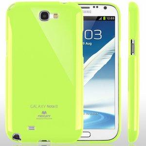 【全11色】Color jelly case for Galaxy Note2(SC-02E)(ライム)