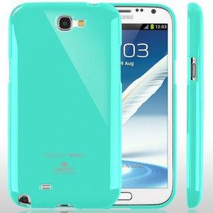 【全11色】Color jelly case for Galaxy Note2(SC-02E)(ミント)