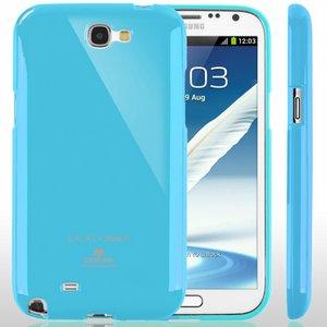 【全11色】Color jelly case for Galaxy Note2(SC-02E)(スカイブルー)