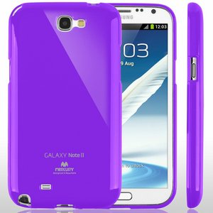 【全11色】Color jelly case for Galaxy Note2(SC-02E)(バイオレット)
