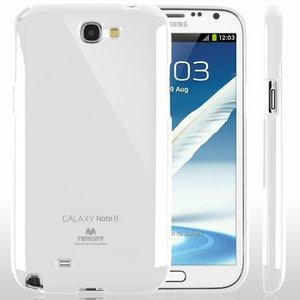 【全11色】Color jelly case for Galaxy Note2(SC-02E)(ホワイト)