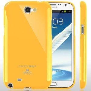 【全11色】Color jelly case for Galaxy Note2(SC-02E)(イエロー)
