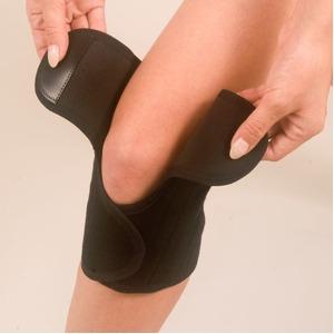 膝サポーター ペガサス【ブラックM】 家庭用永久磁気治療器サポーター 辛いひざを楽〜に♪!