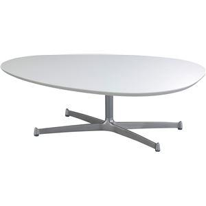 SWITCH(スウィッチ) エッグ リビングテーブル 【UVコート】 幅110cm 【2個口】
