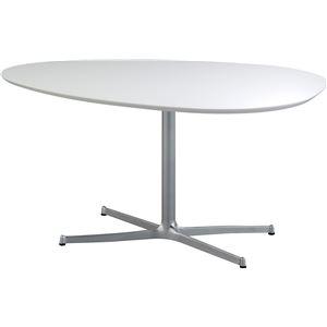 SWITCH(スウィッチ) エッグ ダイニングテーブル 【UVコート】 幅140cm
