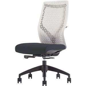 オカムラ オフィスチェア ビラージュ オフィスチェア 肘なし ブラック 8VCM2A-FHR1 - 拡大画像