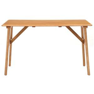 ミキモク ダイニングテーブル パフューム ナチュラル 120x75cm WT-120731 ALD ナチュラル - 拡大画像