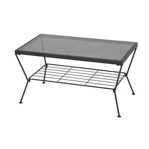 あずま工芸 リビングテーブル 幅75cm  GLT-2309 - 拡大画像