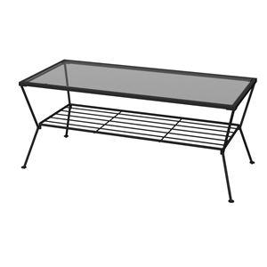 あずま工芸 リビングテーブル 幅90cm  GLT-2319 - 拡大画像