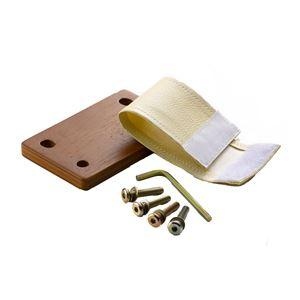 ボスコプラス クローネLD チェア連結プレート 12cm ライトブラウン AN90000W-PL8P1【部品ーのみ本体別売り】