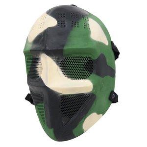 フルフェイスマスク 迷彩柄 K-159 - 拡大画像