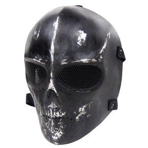 フルフェイスマスク スカル仕様 K-162 - 拡大画像