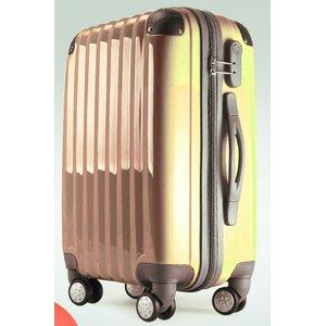 24インチ ポリカーボネートスーツケース ゴールド CPL-8011-24GD - 拡大画像