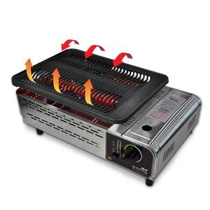 家庭用無煙ロースター 極少煙セラグリル ECGH-100J エコスター ECO STAR カセットボンベ式