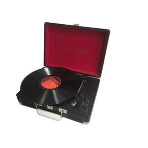 レトロ・クラシカルレコードプレーヤーTY-1706BK ブラックの写真