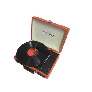レトロ・クラシカルレコードプレーヤーTY-1706ORオレンジ
