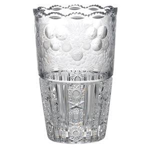 《ギフトラッピング対応》 【Bohemian Garden】ボヘミアンガーデン 花瓶(ベース) 高さ25.5cm EGL-503