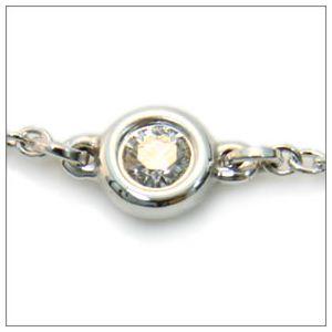 Tiffany(ティファニー) ダイヤモンド バイ ザ ヤード ブレスレット 0.05ct 7in24944352 h02