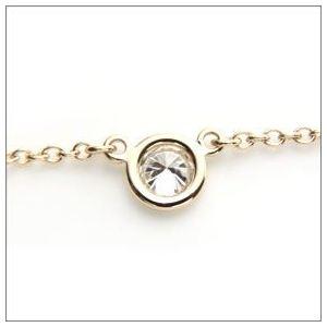 Tiffany(ティファニー) ダイヤモンド バイ ザ ヤード ネックレス ダイヤモンド 0.12ct 18K 16in 24834239 h02