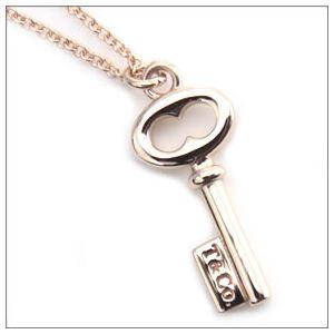 Tiffany(ティファニー) キー T&Co. ペンダント ミニ 16in 18R 25460952 h02